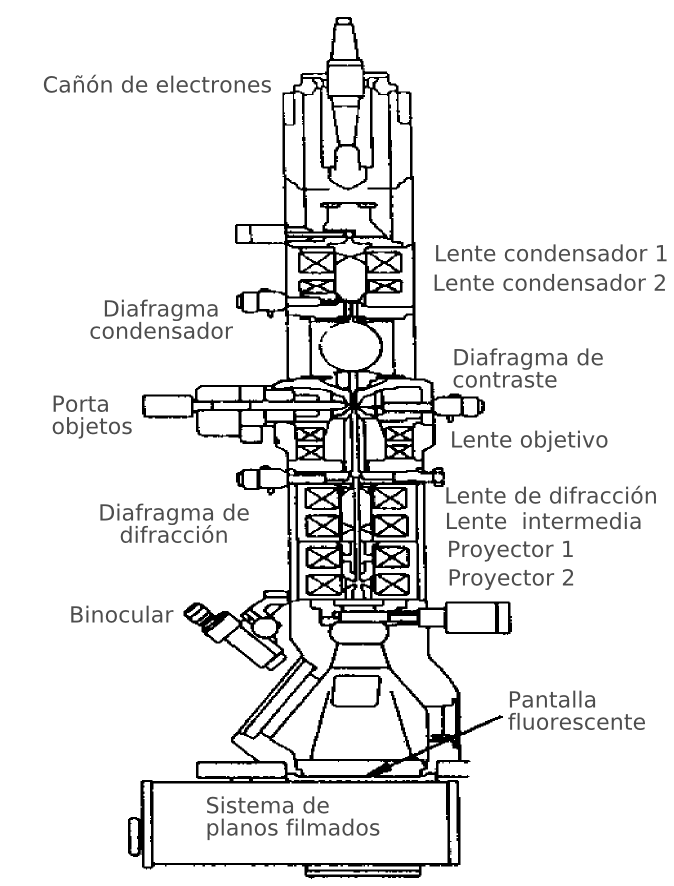 the description of the electron microscope and how it works The basics of how a scanning electron microscope works.