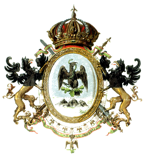 File:Second Mexican Empire's Coat of Arms.png