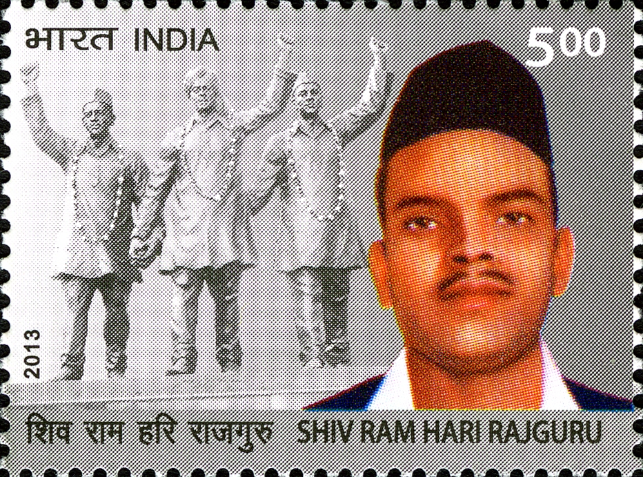 Shivaram Rajguru 2013 stamp of India.jpg