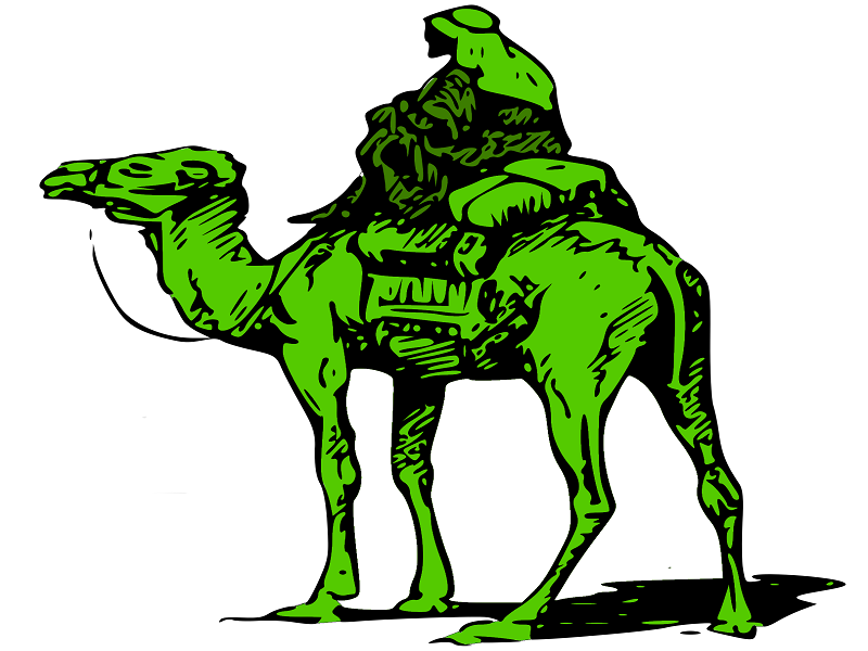 The silk road homepage image.