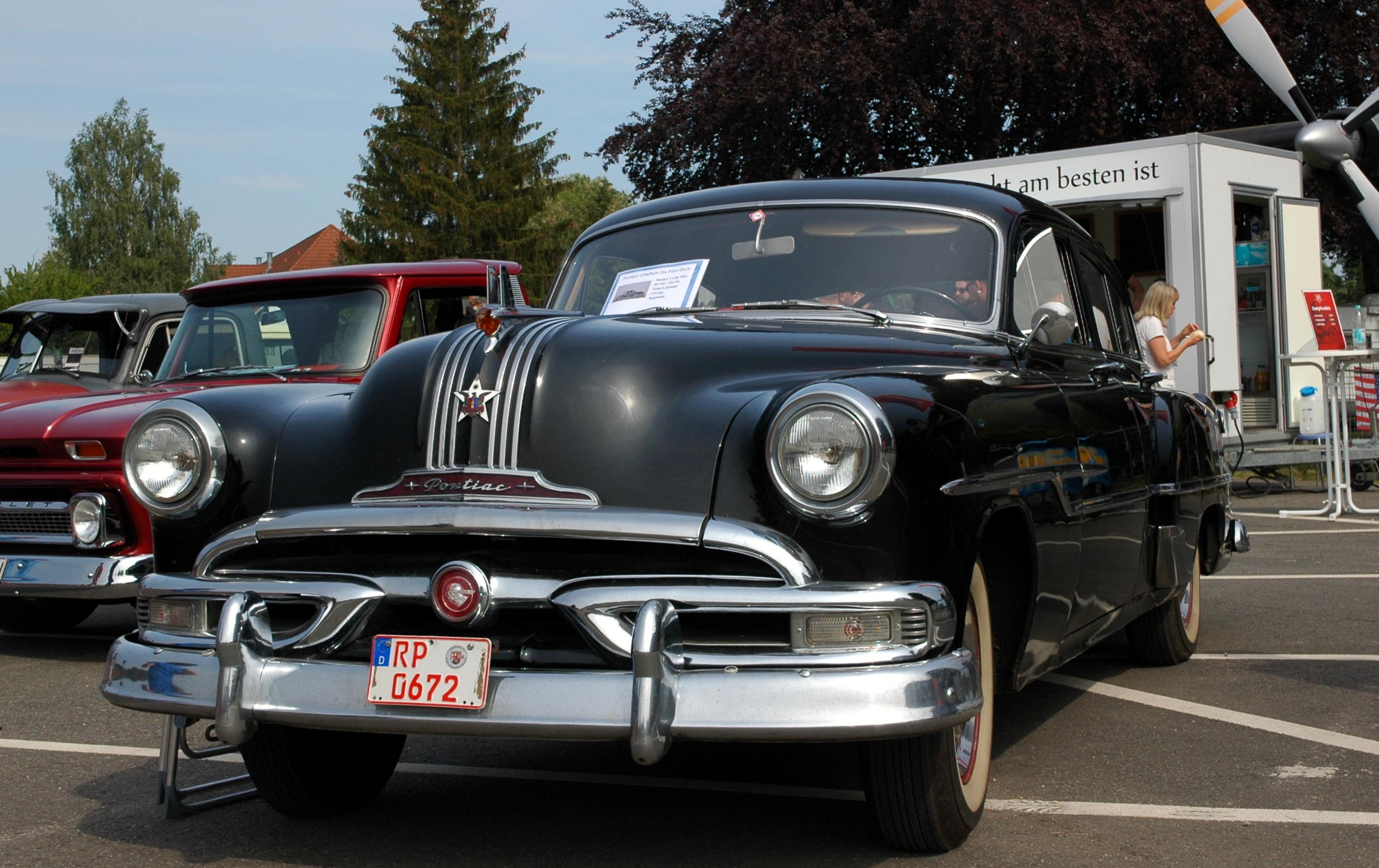 Filespeyer Brazzeltag Pontiac Chieftain Six Four Door 1953 Sedan 2018