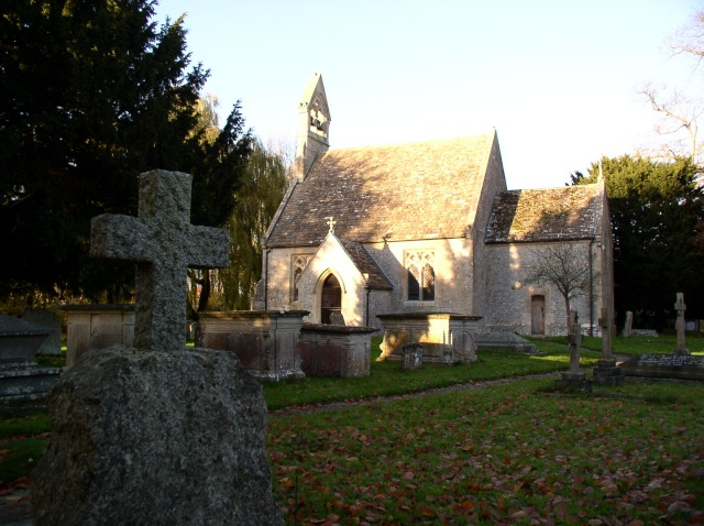 St Stephen's parish church, Beechingstoke, Wiltshire, seen from the south