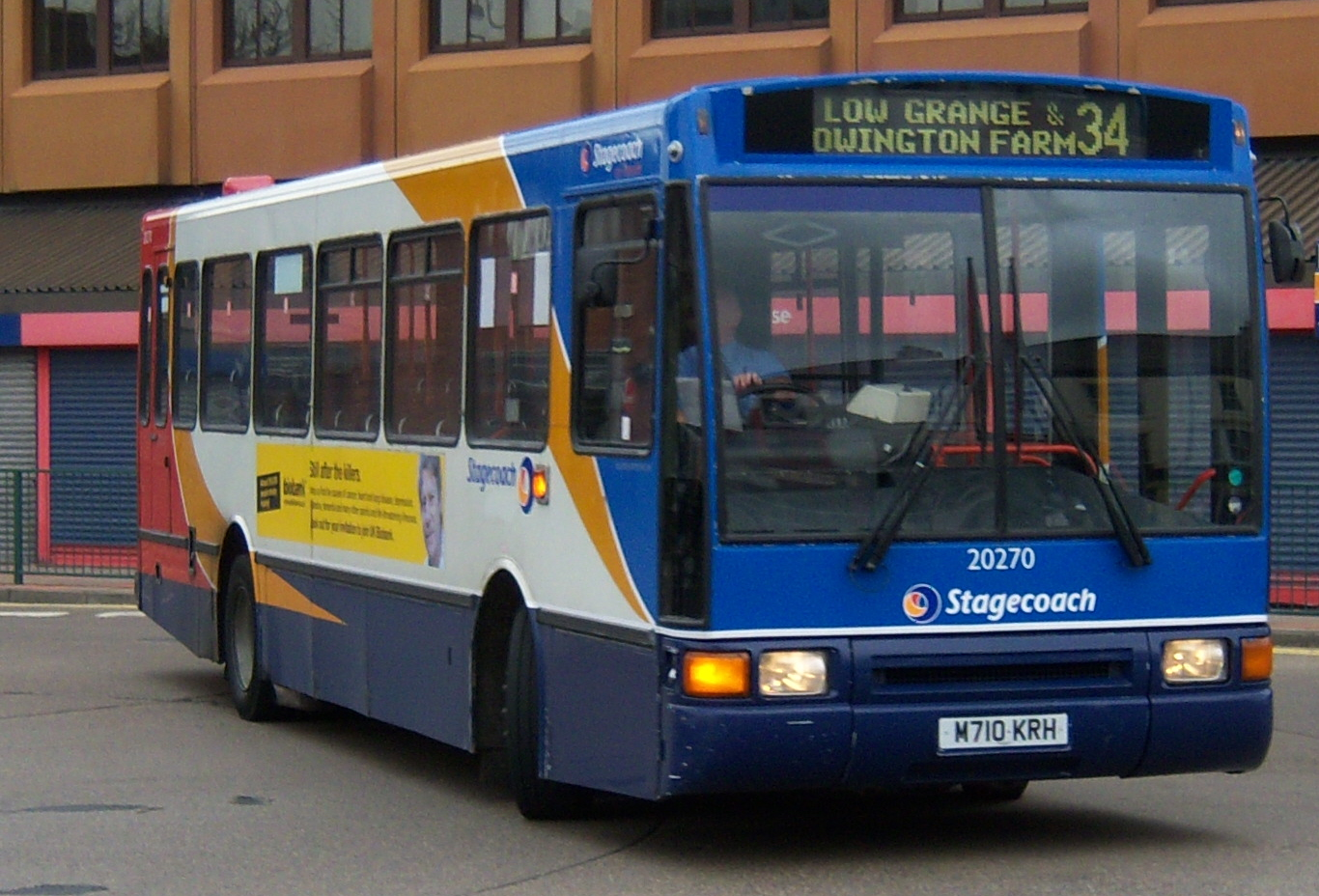 File Stagecoach On Teeside Bus 20270 Volvo B10m Northern