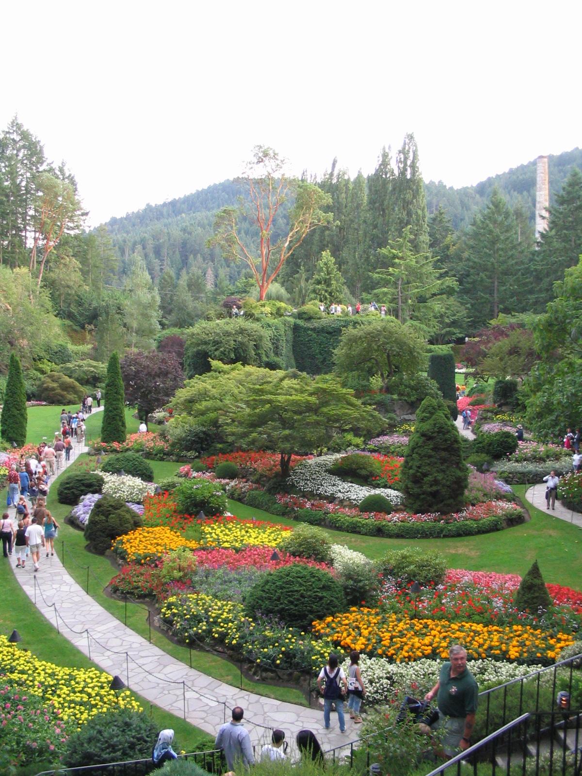 Jardins de butchart wikip dia a enciclop dia livre - Fotografias de jardines ...