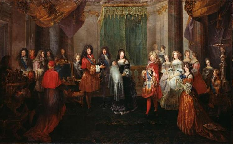 File:The birth of the Duke of Burgundy at Versailles on 6 August 1682 by