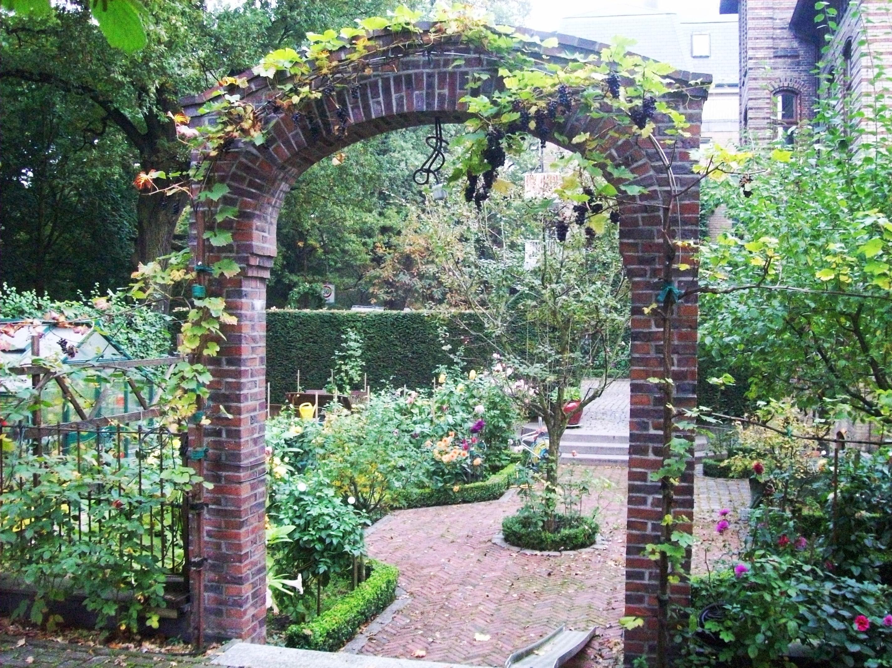 Filetorbogen Im Garten Panoramiojpg Wikimedia Commons