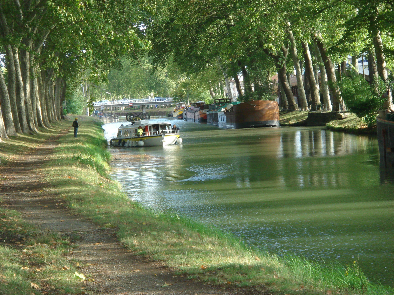 Le canal du midi arts et voyages for Balade sur la garonne toulouse