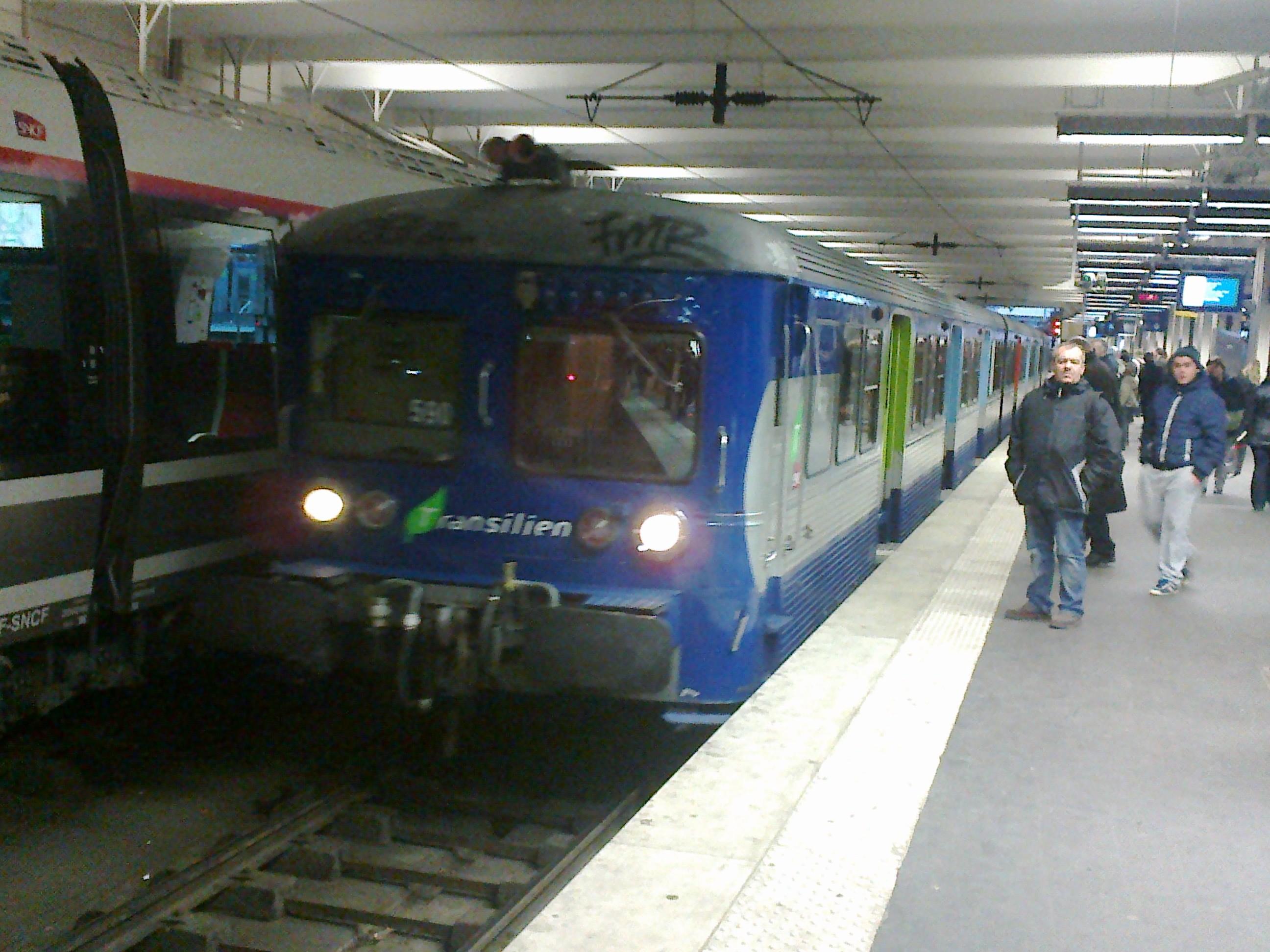 Ligne k du transilien wikiwand - Transilien prochain train ...