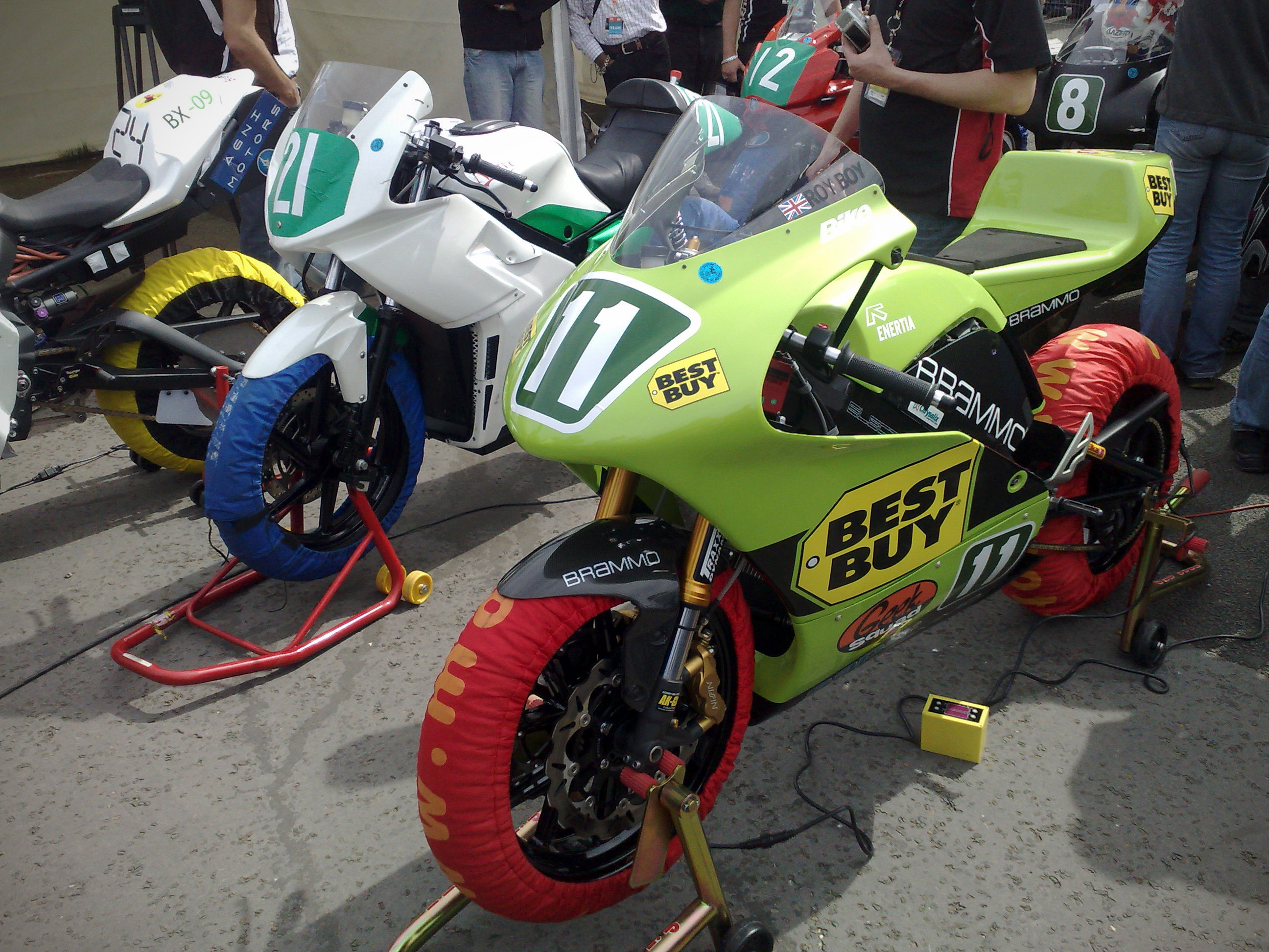 Bike History Report No Cost TTXGP bikes at Isle of Man TT