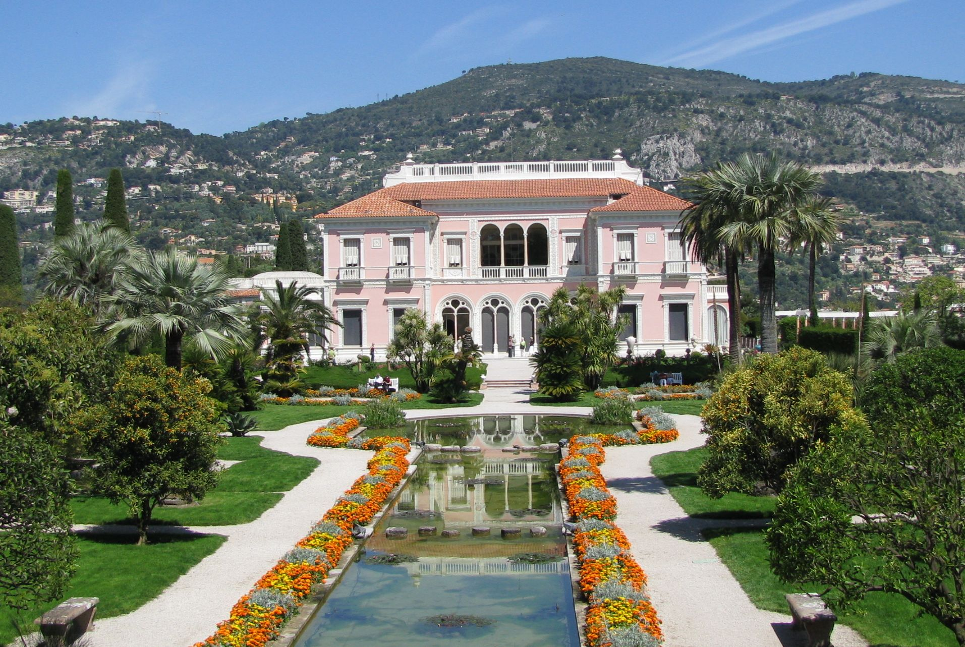 Villa ephrussi de rothschild for Jardin villa rothschild