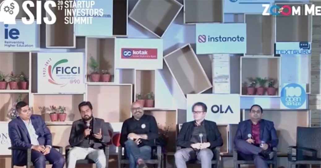 Chairman IBC On Blockchain startup investors summit 2017.jpg English: Vishal Nigam Chairman IBC On Blockchain startup investors summit 2017 Date 6 January