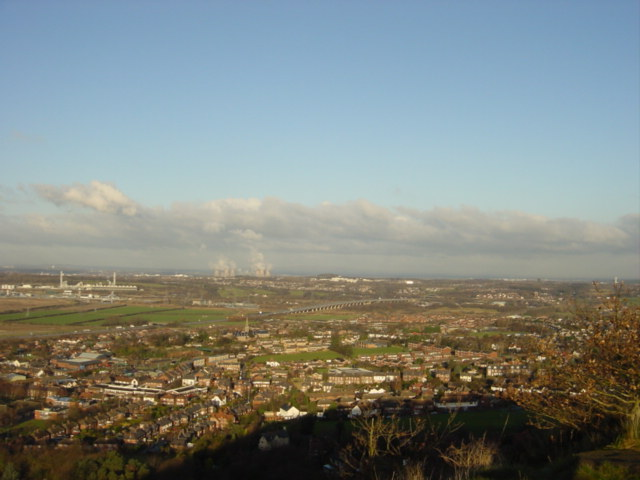 Vista from Frodsham Hill - geograph.org.uk - 96954