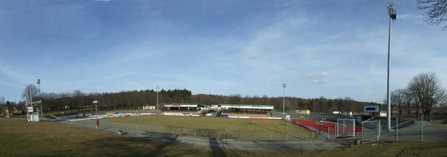 Vogtlandstadion in Plauen