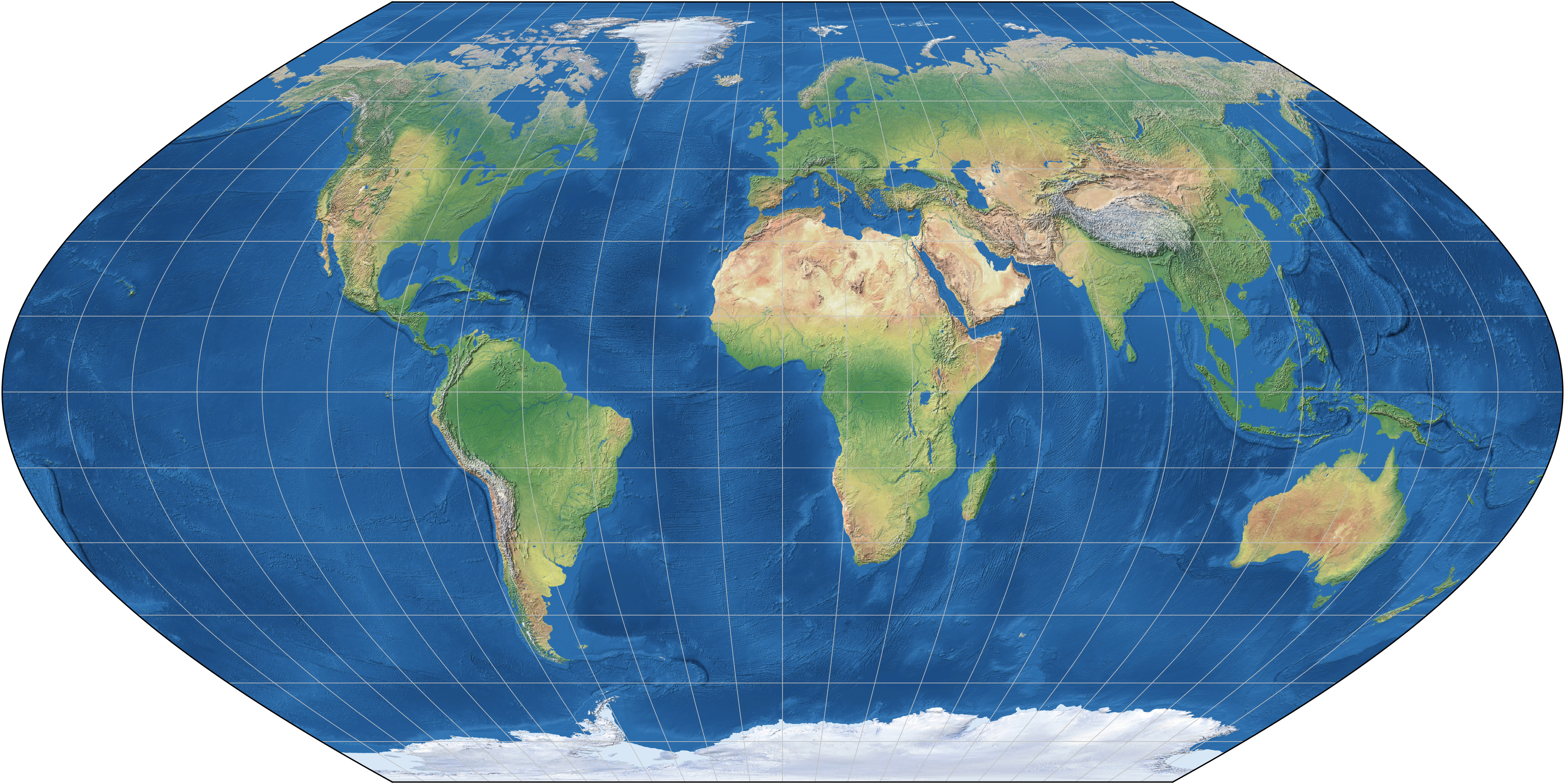 robinson projection Best answer: visually, the most obvious difference is that on the mercator projection the meridian lines are straight, while in the robinson projection, only the.