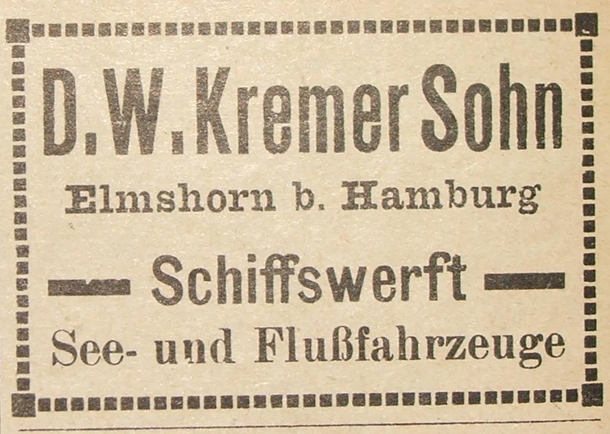 Kremer Werft Wikipedia