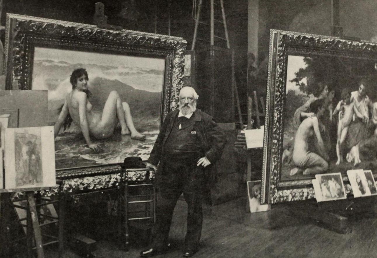 File:William-Adolphe Bouguereau in his Studio.jpg