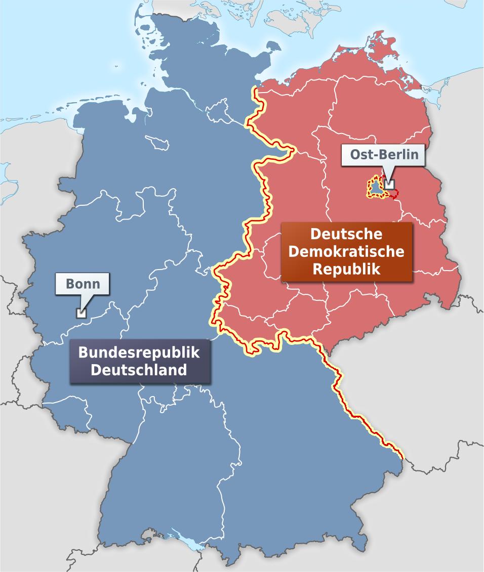 deutschland karte 1989 Zonenrandgebiet – Wikipedia
