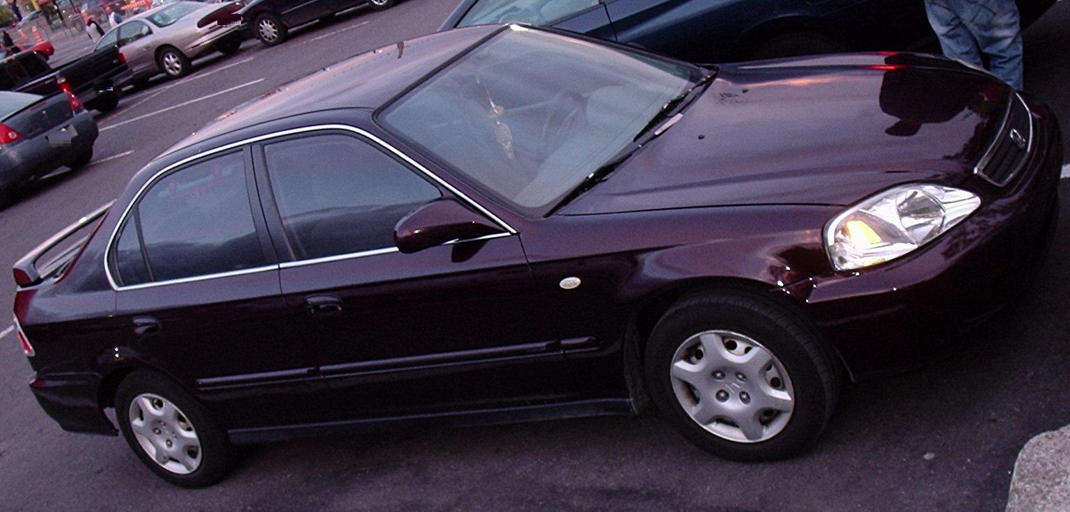 99 Civic Sedan: File:`99-`00 Honda Civic Sedan (Orange Julep `10).jpg
