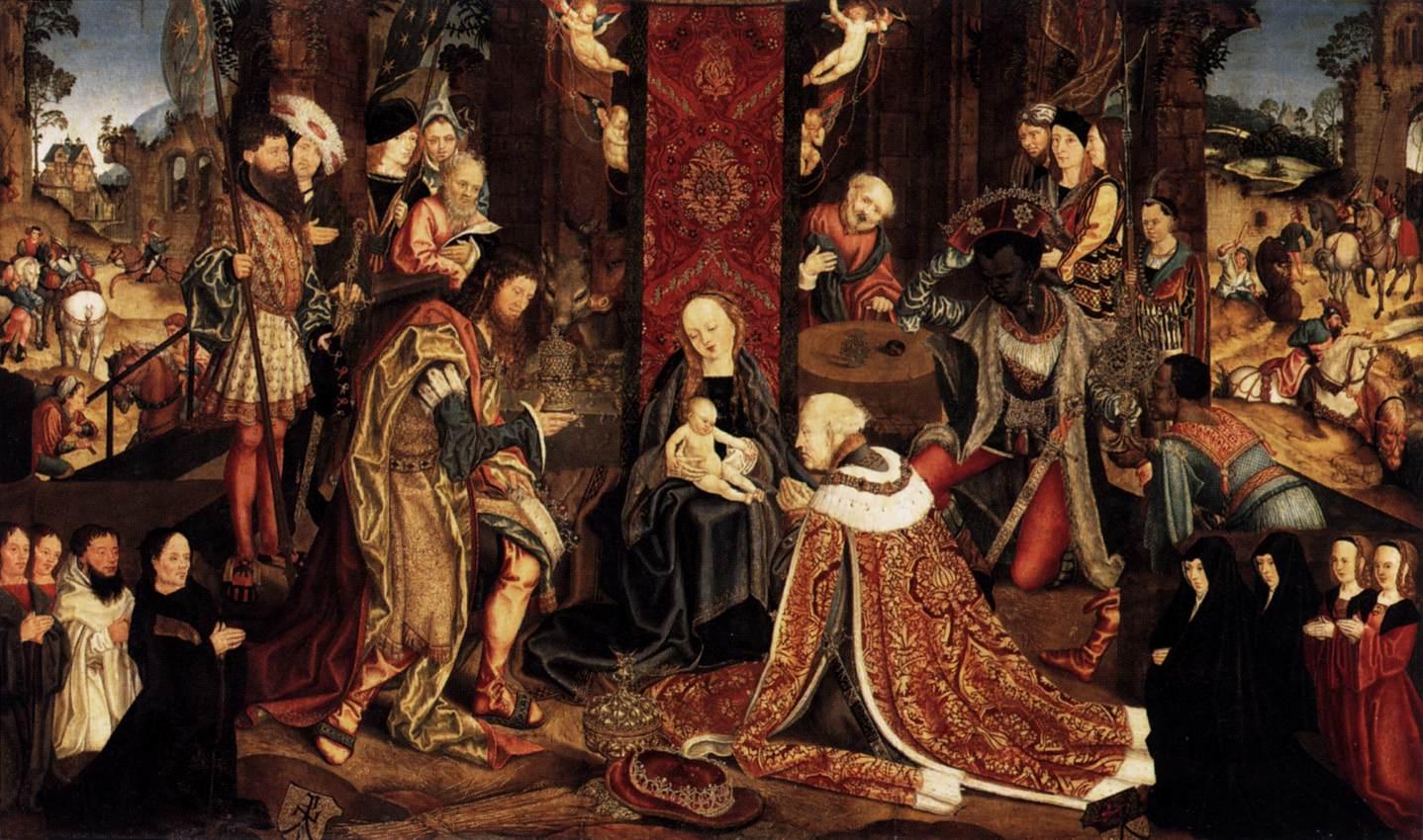 File 16th Century Unknown Painters Epiphany Wga23751 Jpg