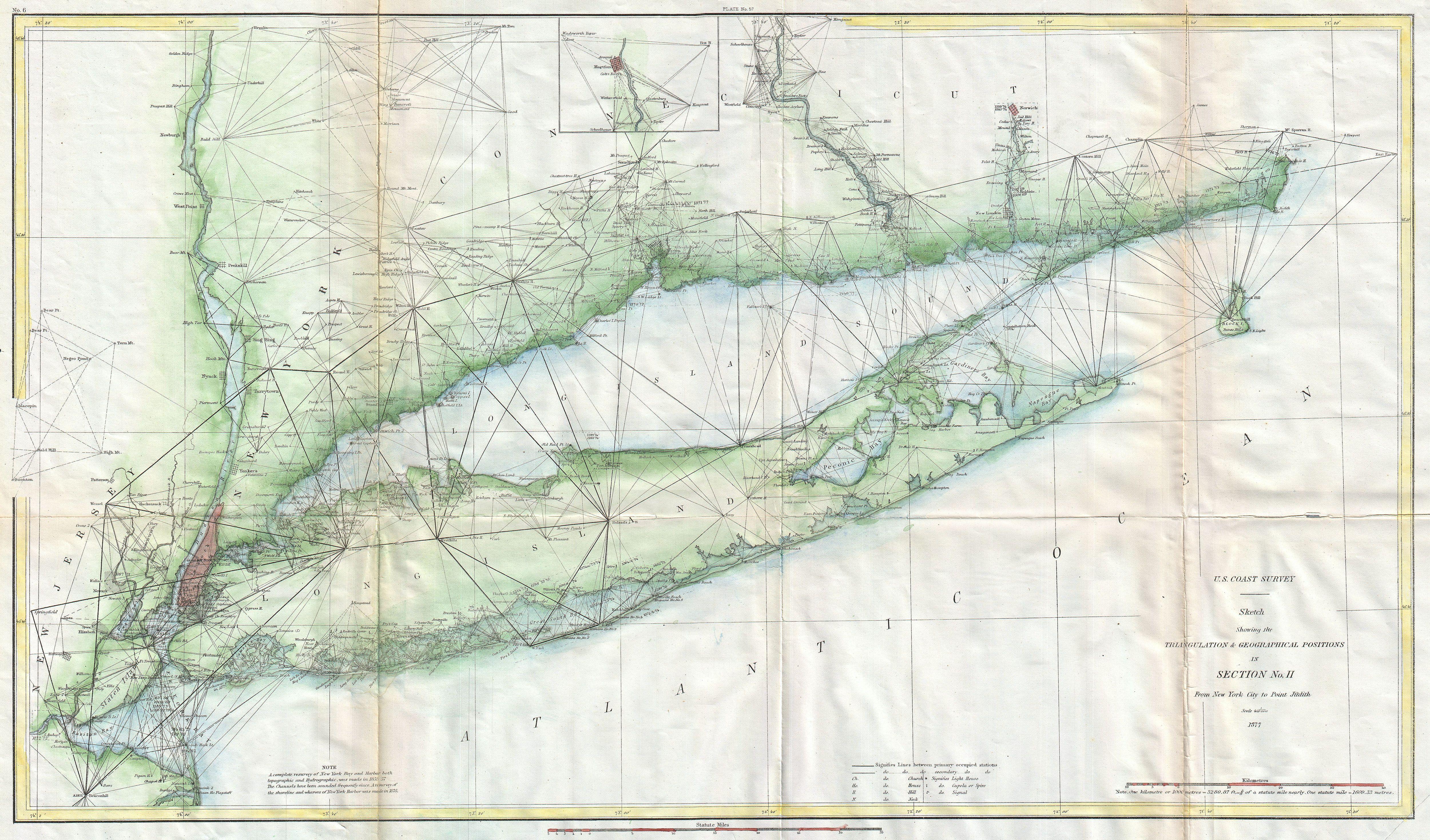 File 1877 u s coast survey map of long island and new york city