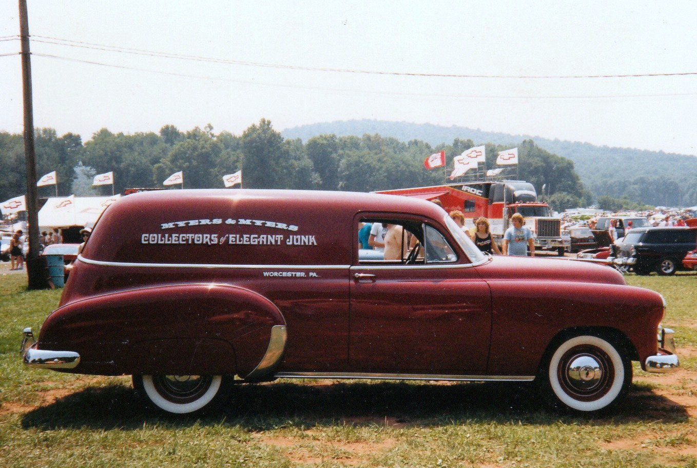Truck 1949 chevy panel truck : File:1949 Chevy Sedan delivery.jpg - Wikimedia Commons