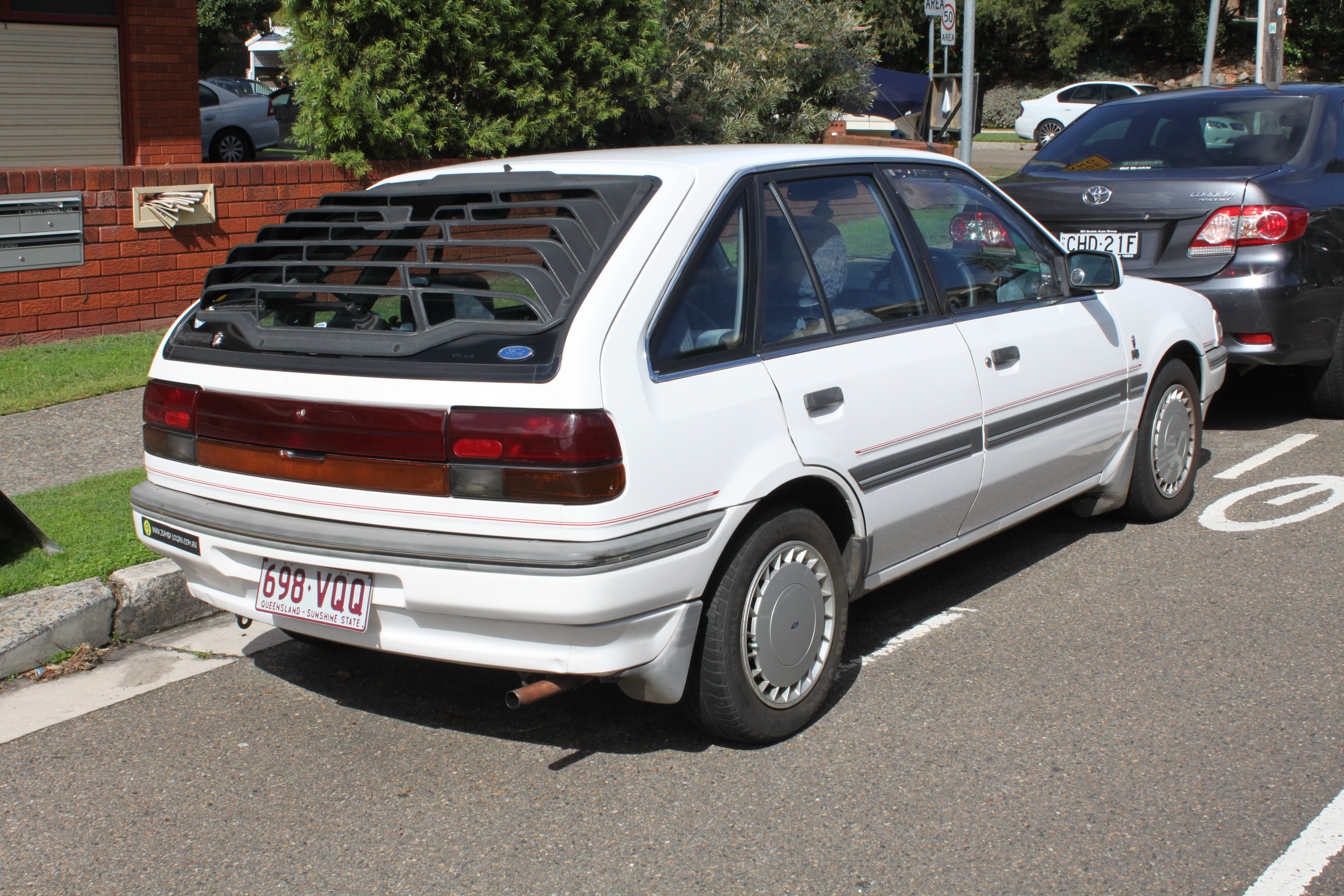 Ford Laser 1989 - New Car Release Date and Review 2018 ...