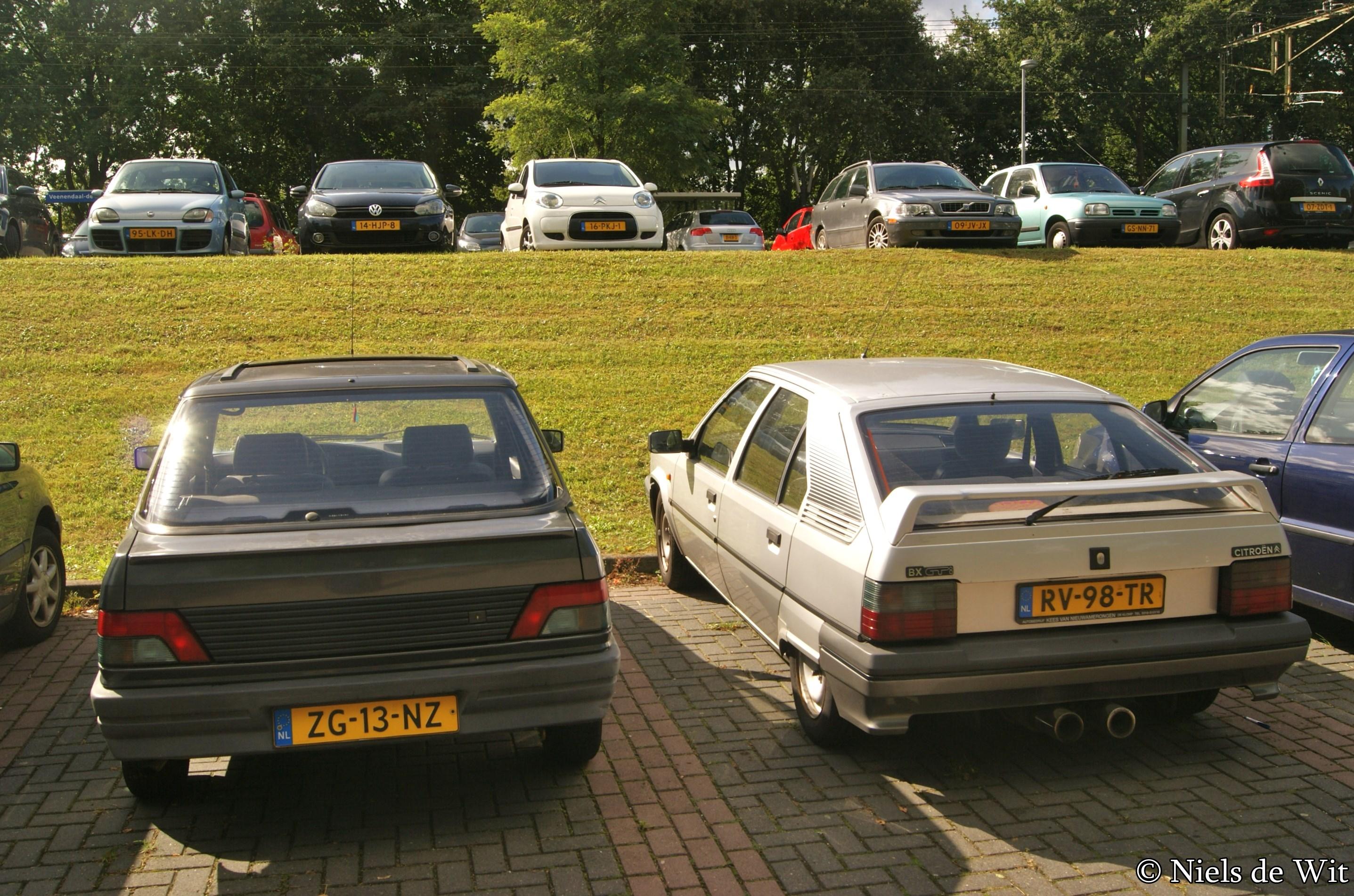 File 1991 Peugeot 309 Gl 1 4 Magnum 1987 Citroen Bx 9776506792 Jpg Wikimedia Commons