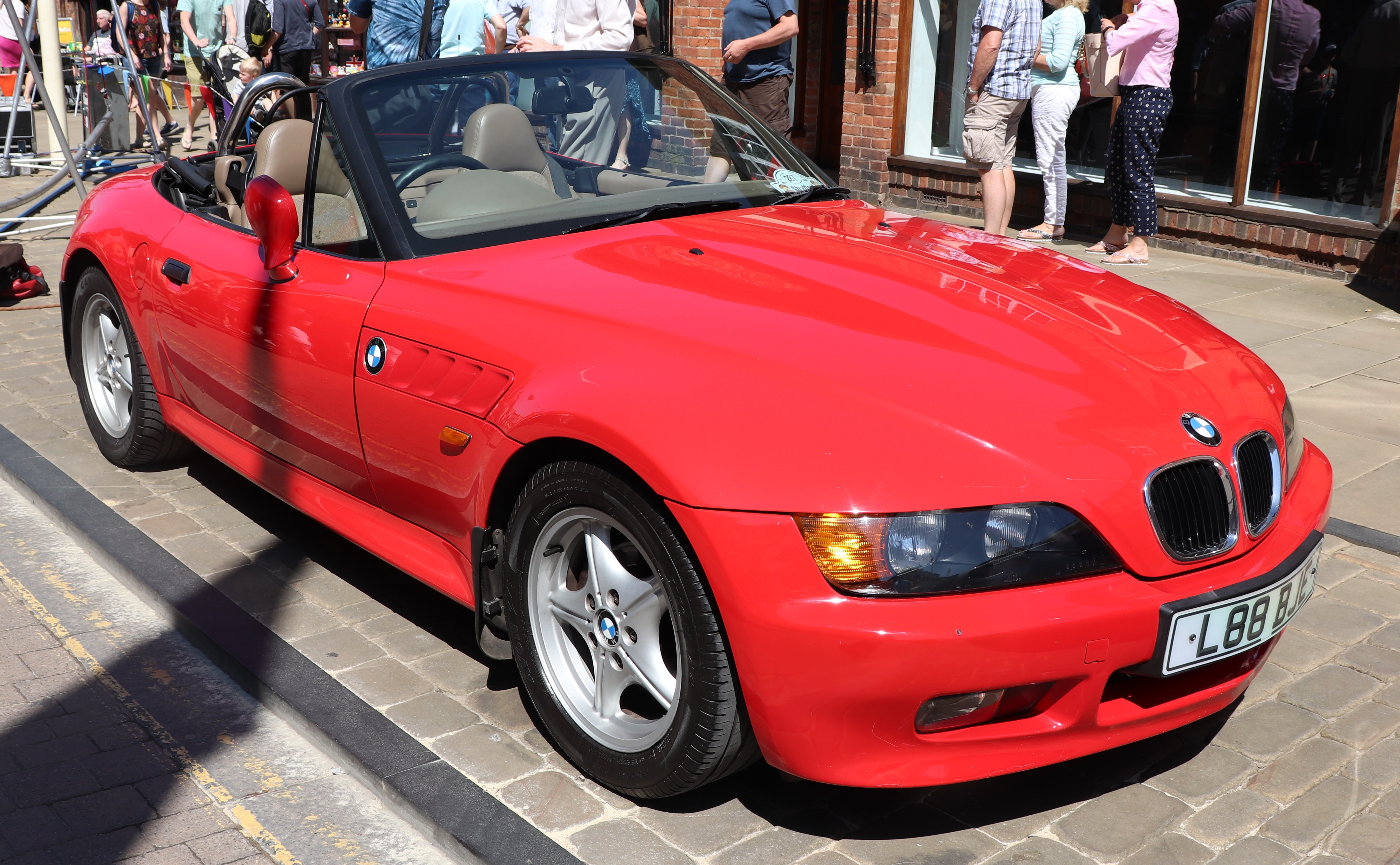 File 1997 Bmw Z3 1 9 Jpg Wikimedia Commons