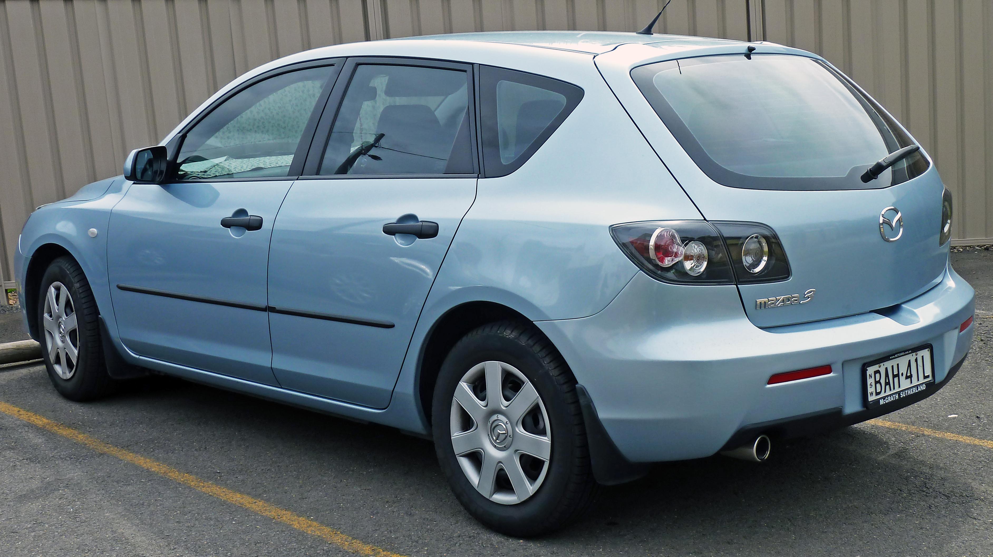 File:2006 2008 Mazda 3 (BK Series 2) Neo Hatchback 03.