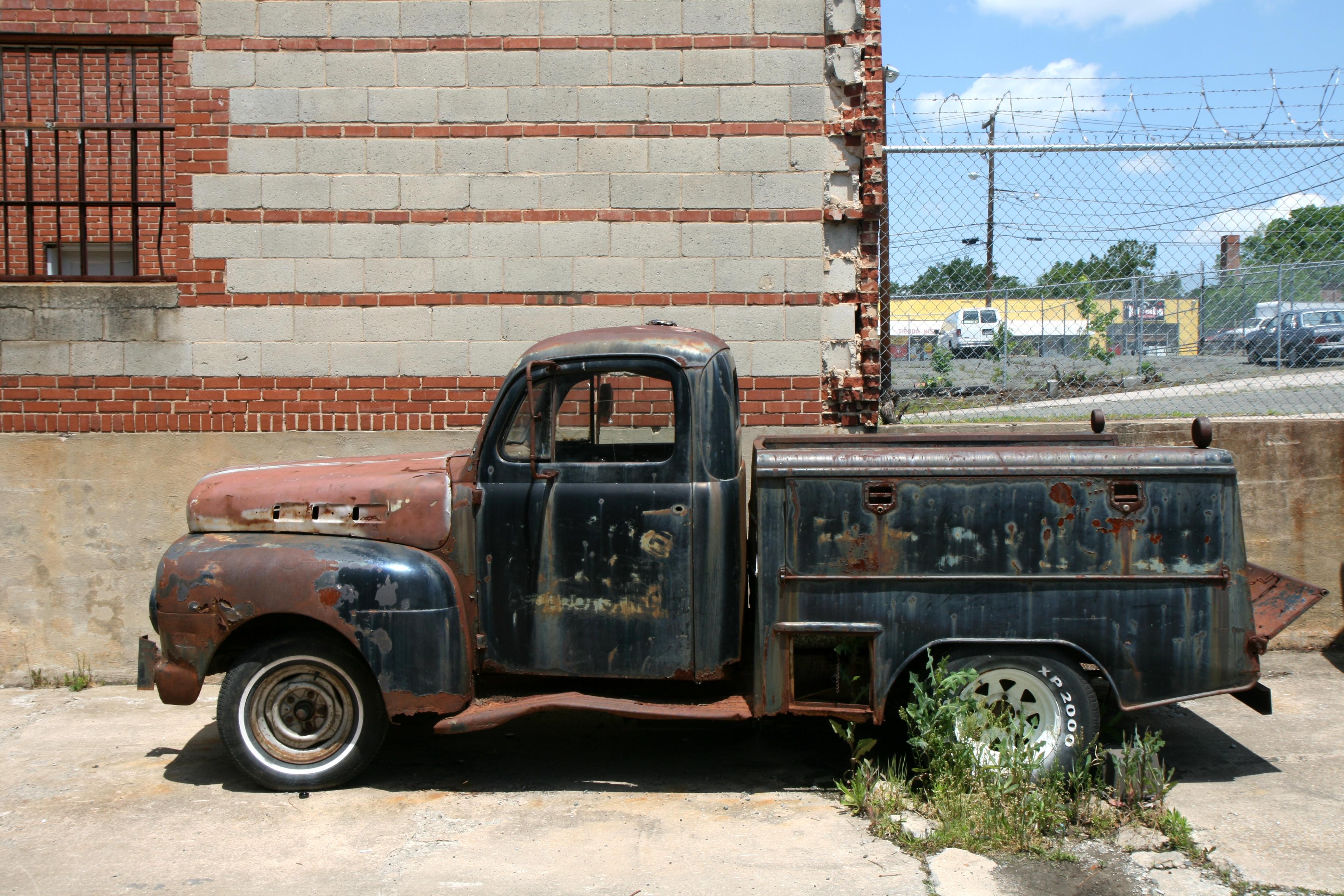 Rusty Car Frame Paint
