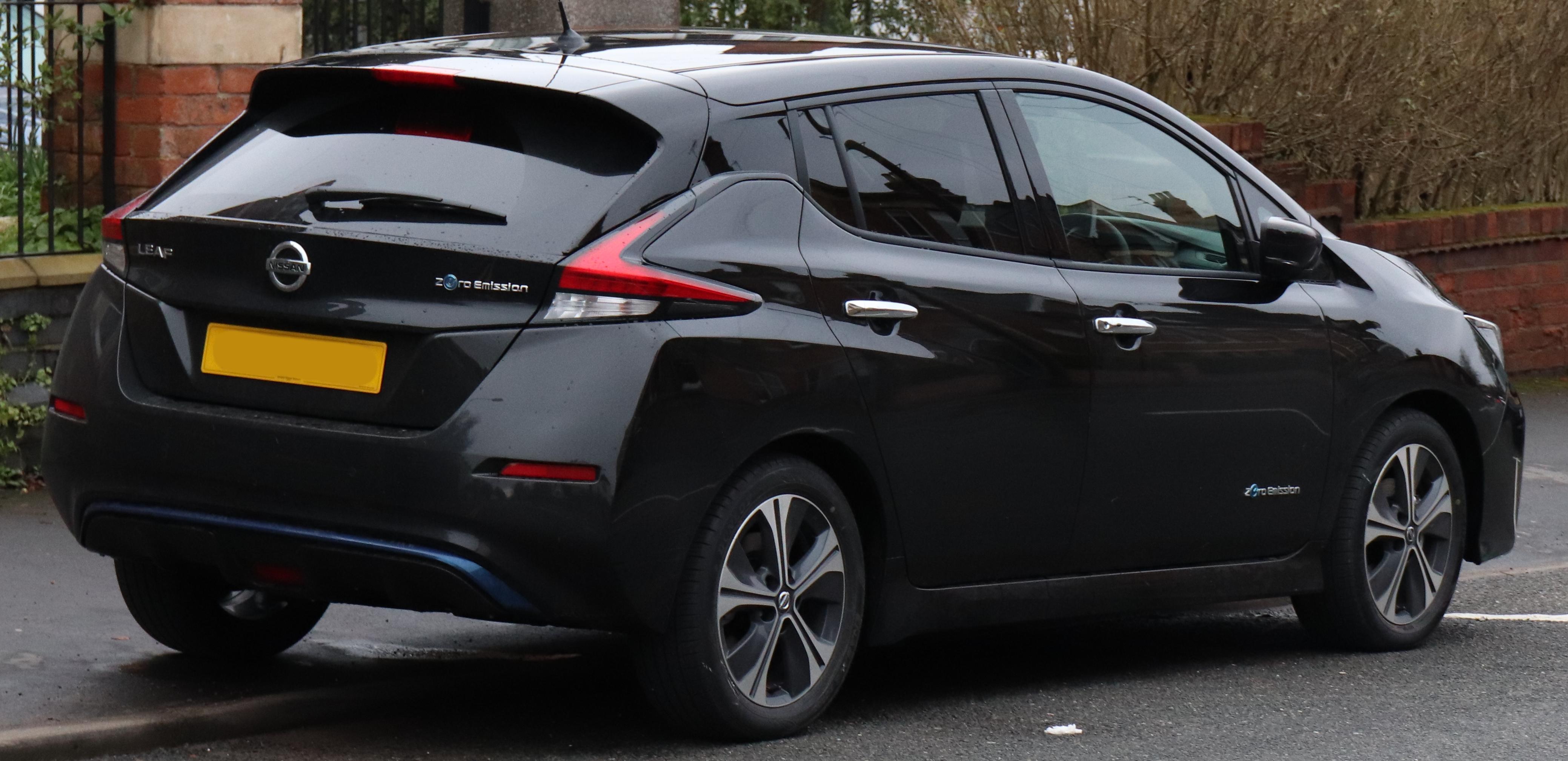 File 2018 Nissan Leaf 2 Zero Rear Jpg
