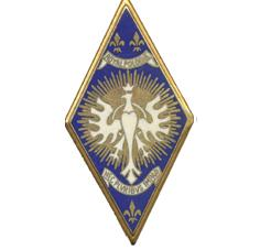 Odznaka pułkowa 5° Régiment de Cuirassiers