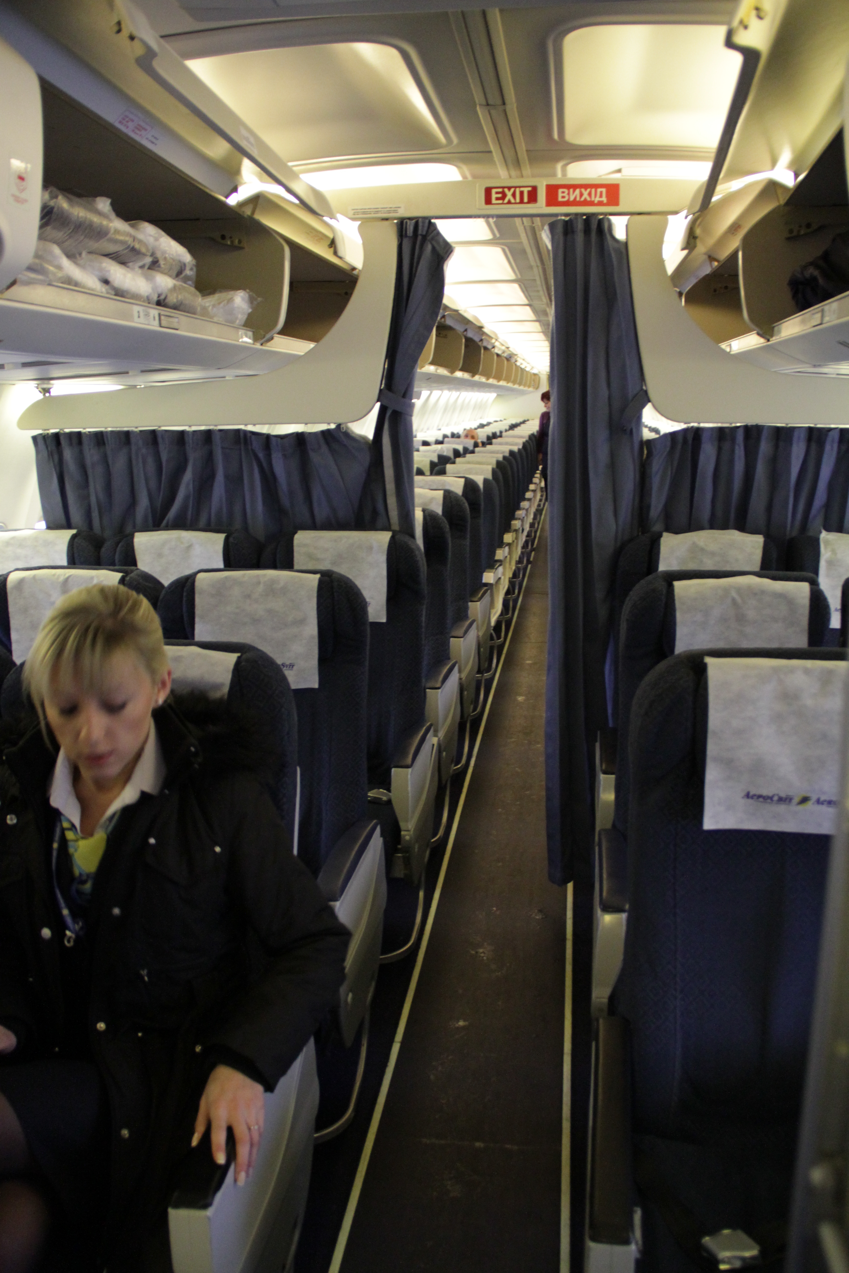 Boeing  Interior Tour