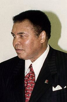 Muhammad Ali, who was named 'fighter of the year' more times than any other fighter. Was not awarded the honor in 1966 due to draft controversy, but it was retroactively awarded in December 2016. Ali won the award six times in total.