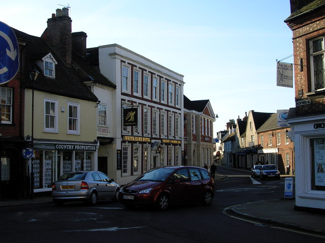 Ampthill Town Centre - geograph.org.uk - 688411