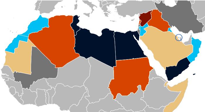 Arab Spring map 07 2013.png