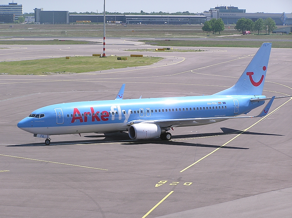Airline Arkeflay (Arkefly). Sito ufficiale.