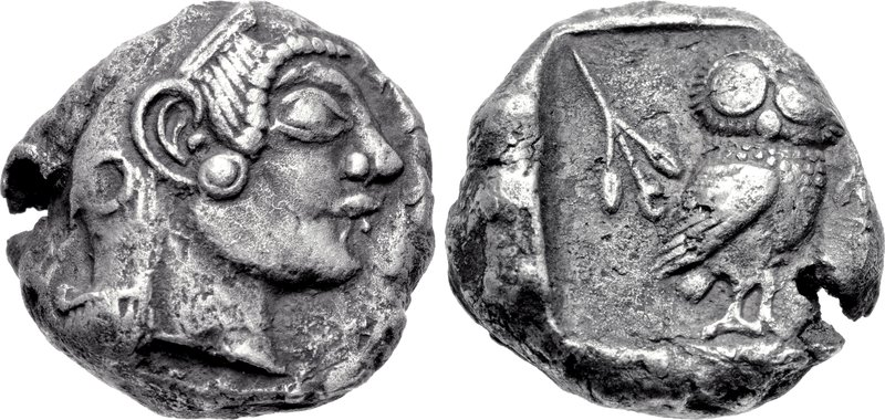 Athens coin discovered in Pushkalavati