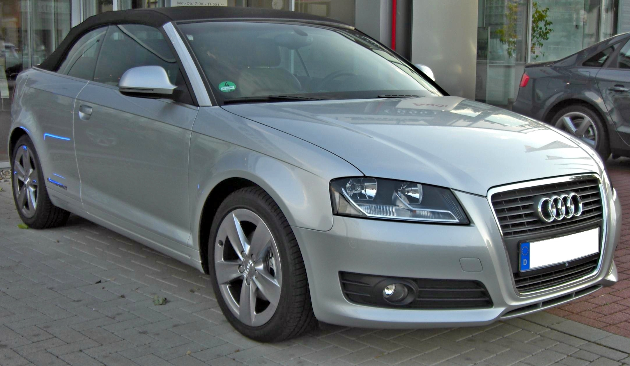 File Audi A3 Cabriolet 2008 Front Jpg Wikimedia Commons