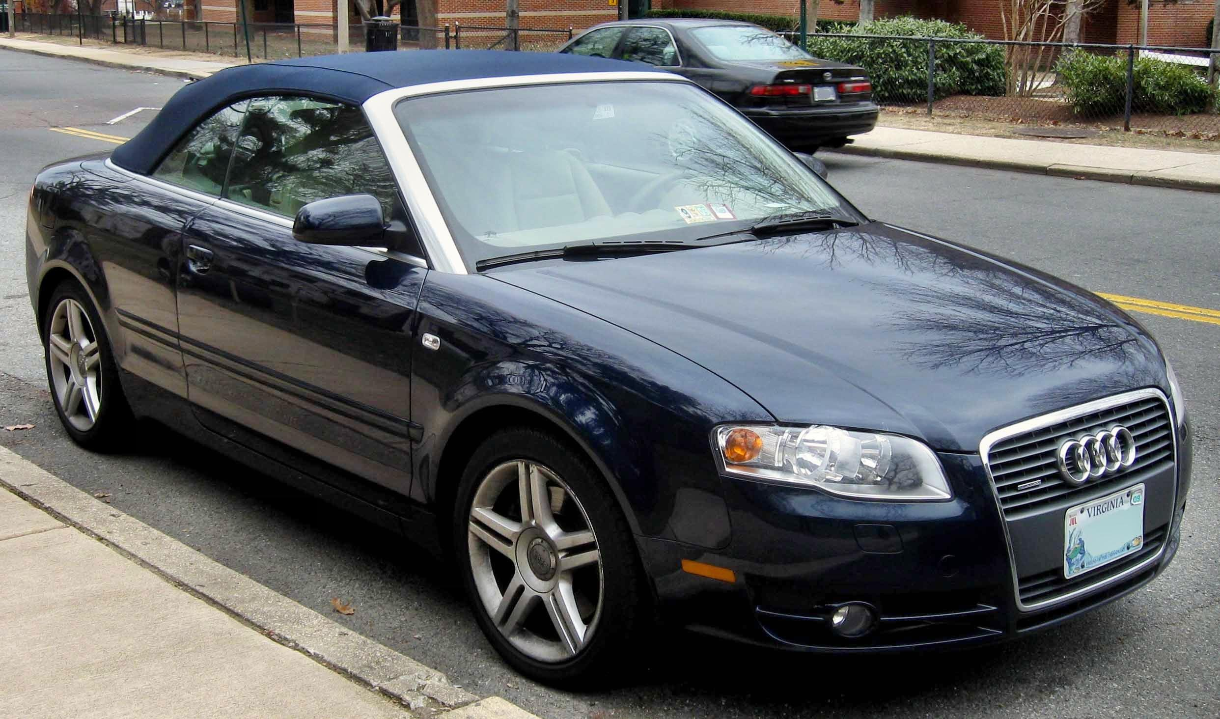 File Audi A4 2 0t Convertible Jpg Wikimedia Commons