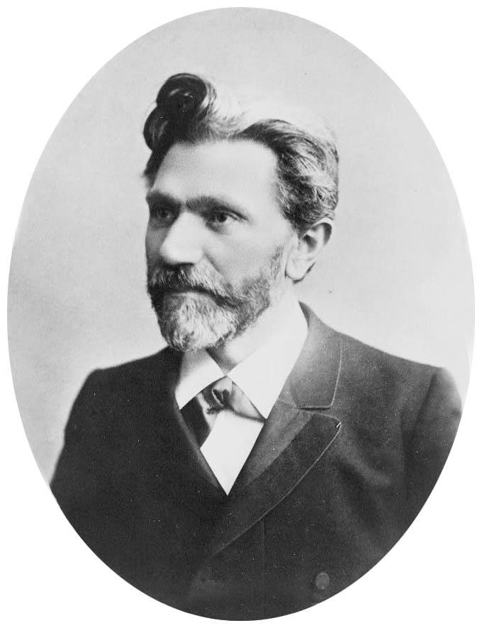 Depiction of August Bebel