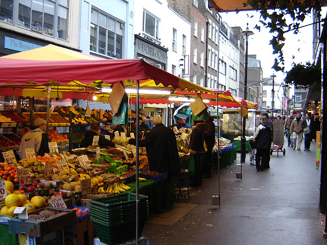 Berwick Street Market London's Food Markets