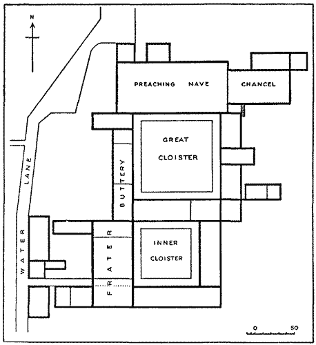 File:Blackfriars_Monastery,_London_ _ground_plan on Store Simple Floor Plans