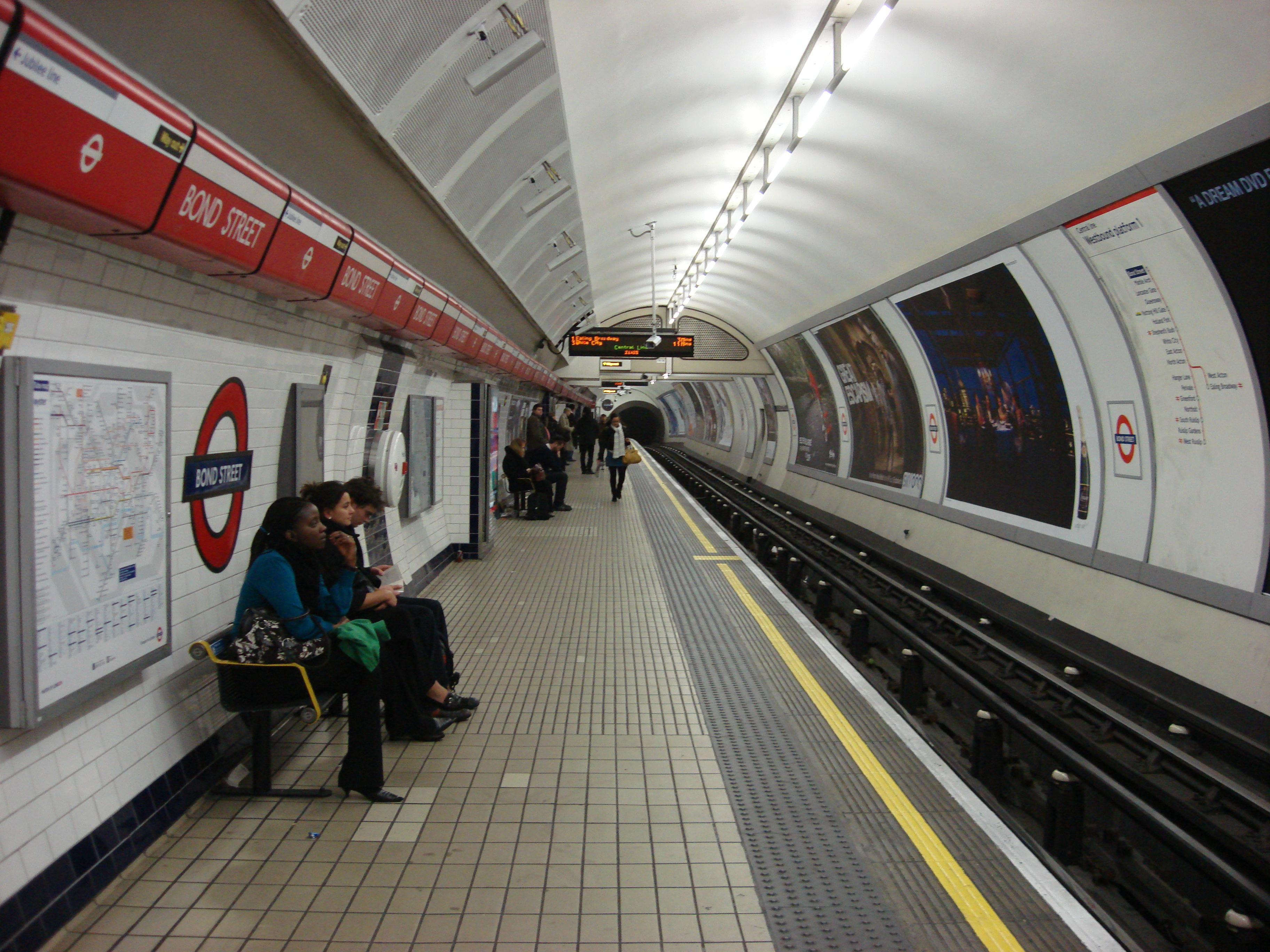 Bond Street tube station #