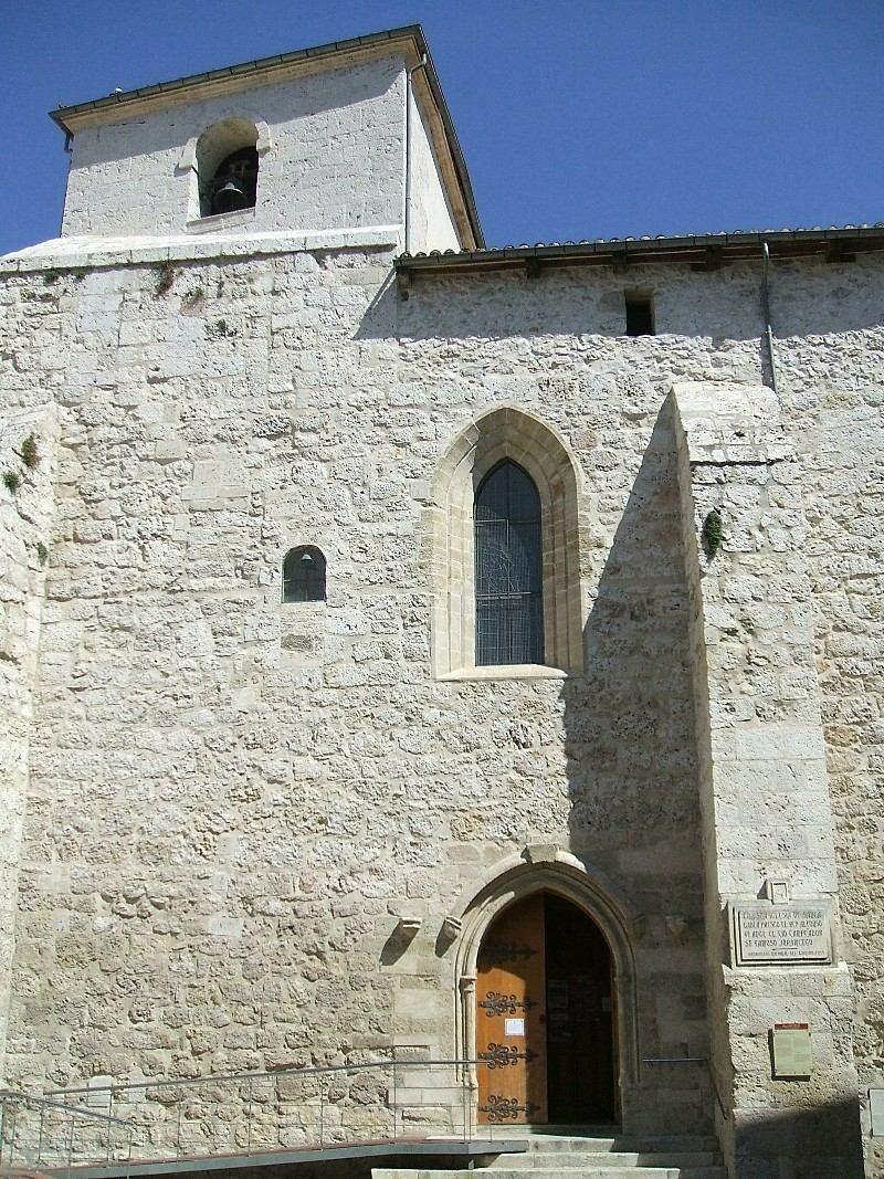 Burgos - Iglesia de Santa Águeda (o de Santa Gadea) 02.JPG