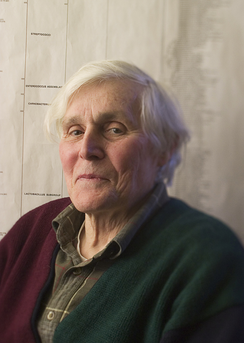Depiction of Carl Woese