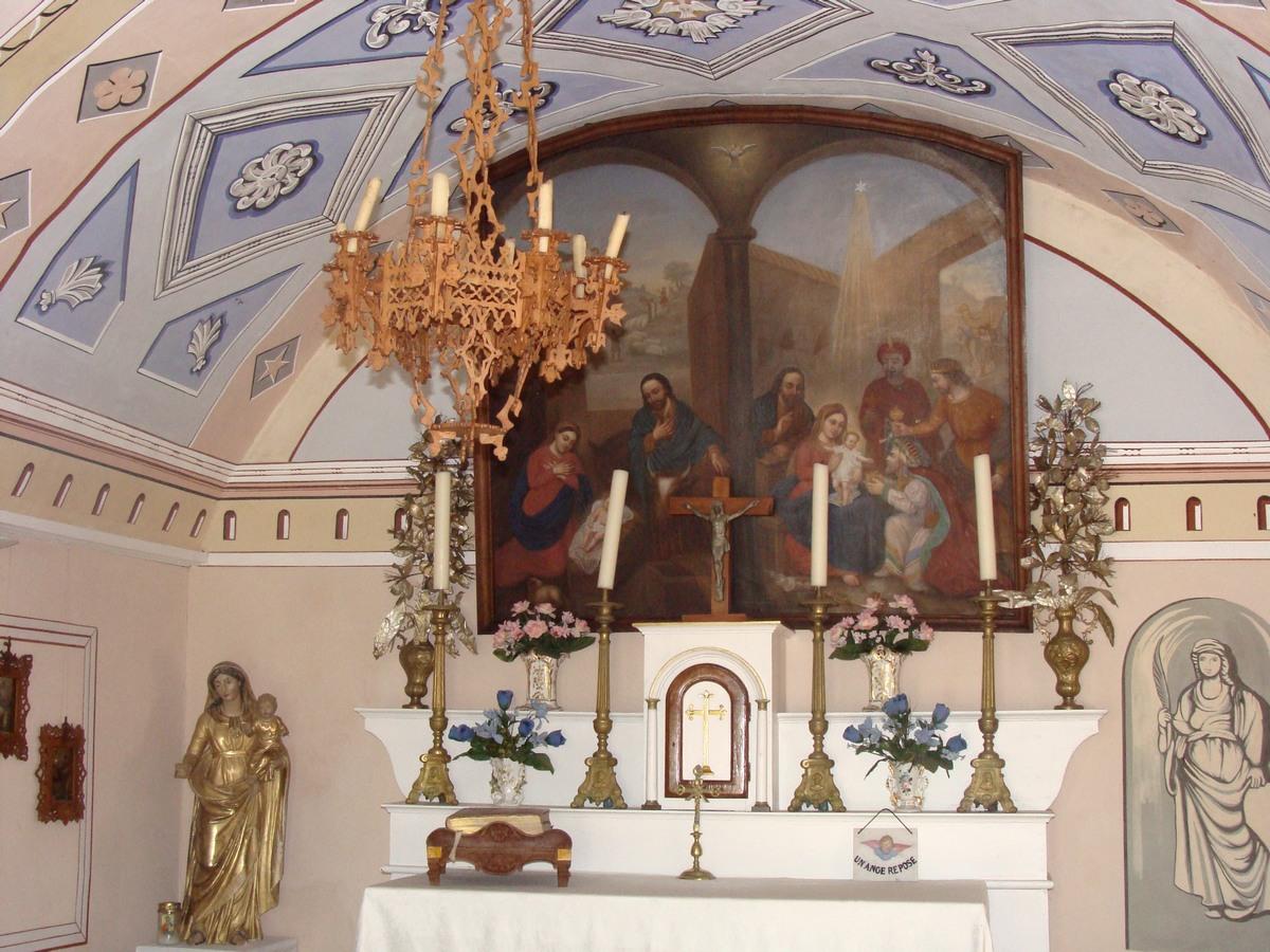 File chapelle de pont du foss 29 jpg wikimedia commons - Plafond de la chapelle sixtine description ...