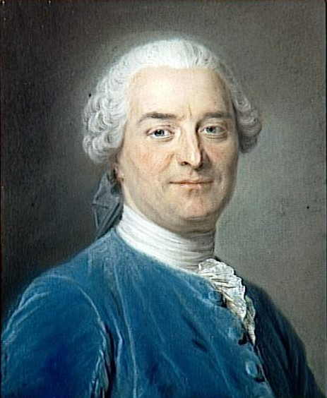 Charles Pinot Duclos by Maurice Quentin de La Tour
