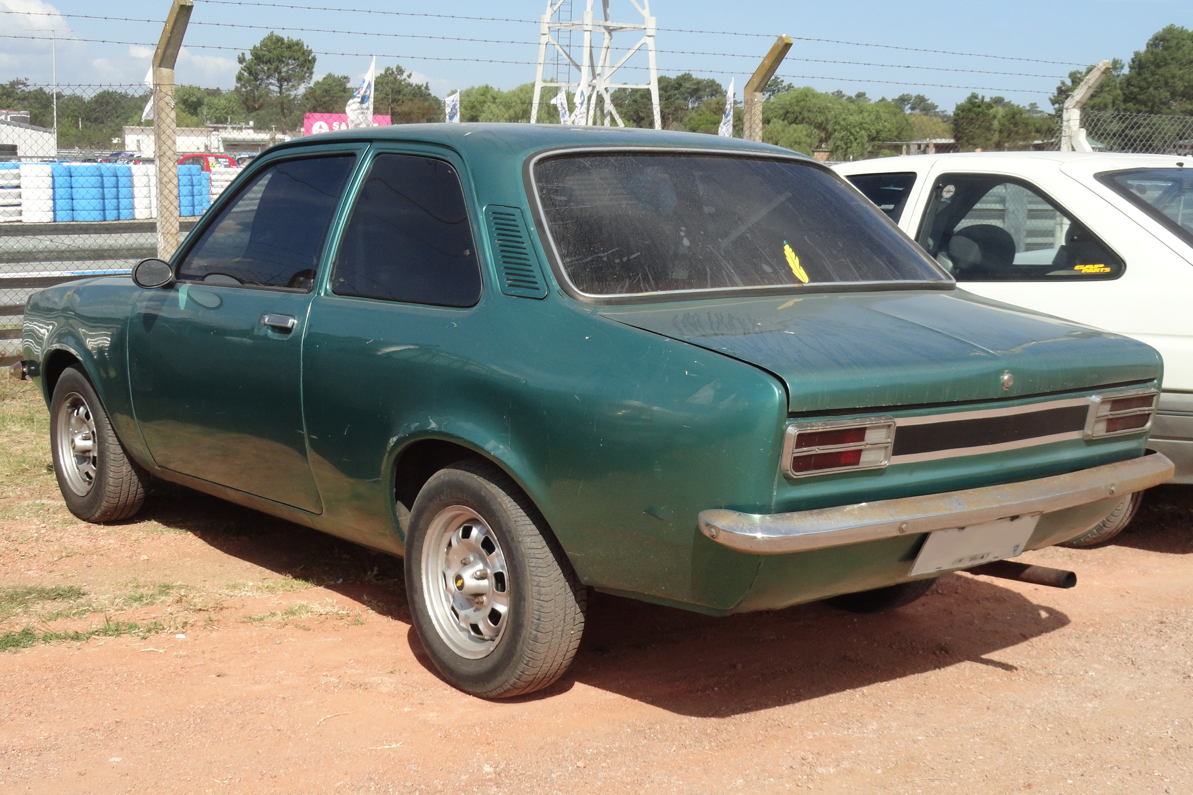 File Chevrolet Chevette 1970s Green In Uruguay Jpg