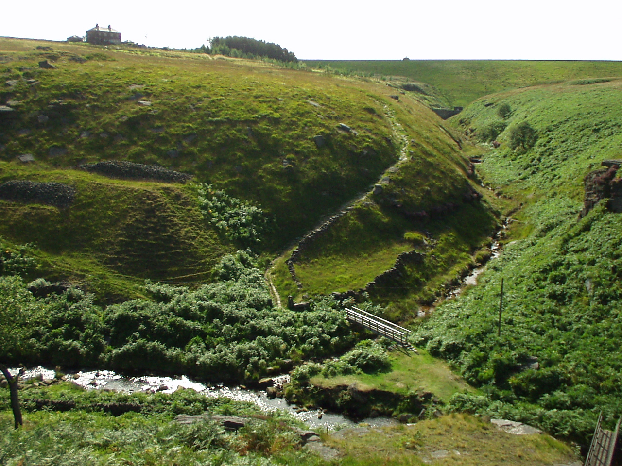 Confluence of Graining Water and Reaps Water - geograph.org.uk - 99838